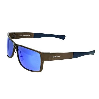 Breed Stratus Aluminium Polarized Sunglasses - Blue/Green BSG010BL