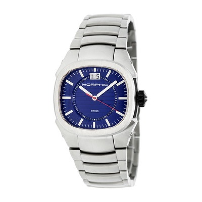 Morphic M43 Series Men's Swiss Bracelet Watch - Charcoal MPH4303