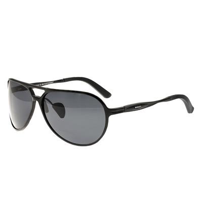 Breed Earhart Aluminium Polarized Sunglasses - Gunmetal/Blue-Green BSG011GM