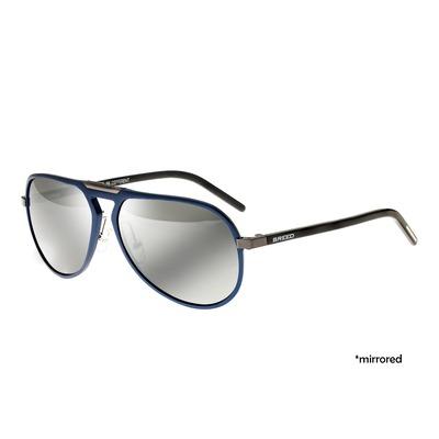 Breed Nova Aluminium Polarized Sunglasses - Black/Black BSG018BK