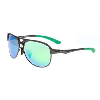 Breed Jupiter Aluminium Polarized Sunglasses - Orange/Silver BSG019OG