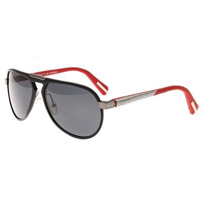 Breed Octans Titanium Polarized Sunglasses - Blue/Black BSG028BL