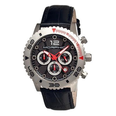 Morphic M33 Series Chronograph Men's Watch w/ Date - Black MPH3304