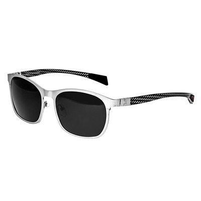 Breed Halley Titanium Polarized Sunglasses - Gunmetal/Blue BSG034GM
