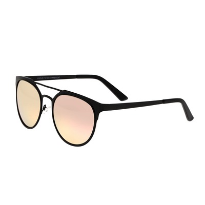 Breed Mensa Titanium Polarized Sunglasses - Brown/Black BSG037BN
