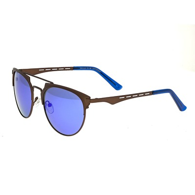 Breed Hercules Titanium Polarized Sunglasses - Gunmetal/Celeste-Yellow BSG039GM