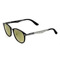 Breed Cetus Aluminium and Carbon Fiber Polarized Sunglasses - Gunmetal/Blue BSG027GM