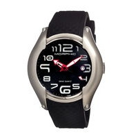 Morphic M3 Series Swiss Quartz Men's Watch w/ Date - Black MPH0303