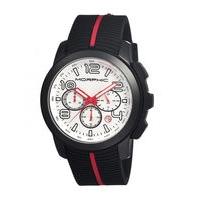 Morphic M22 Series Chronograph Men's Watch w/ Date - Silver/Grey MPH2203