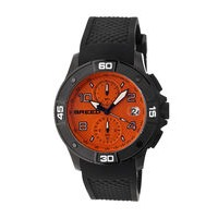 Breed Raylan Chronograph Men's Watch w/ Date-Black/White BRD5804