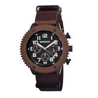 Breed Decker Nylon-Band Chronograph Men's Watch-Black BRD1501