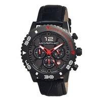 Morphic M33 Series Chronograph Men's Watch w/ Date - Silver MPH3301