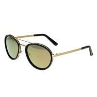 Breed Gemini Titanium Polarized Sunglasses - Brown/Black BSG038BN