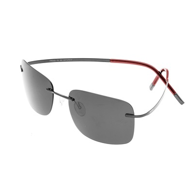 Breed Orbit Titanium Polarized Sunglasses - Black/Black BSG042BK