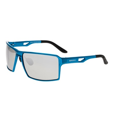 Breed Centaurus Aluminium Polarized Sunglasses - Blue/Silver BSG021BL