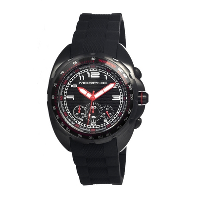 Morphic M25 Series Chronograph Men's Watch - Black MPH2504