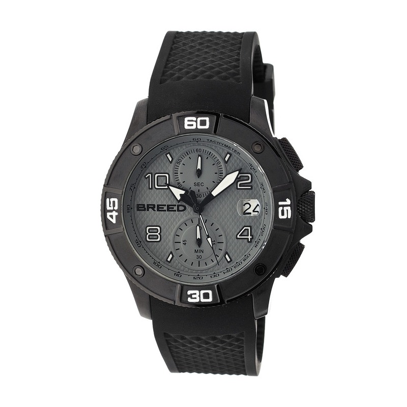 Breed Raylan Chronograph Men's Watch w/ Date-Black/Grey BRD5805
