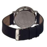 Breed Kimble One-Hand Leather-Band Men's Watch-Black BRD2502