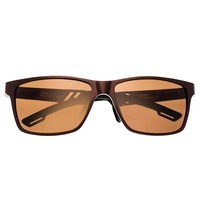 Breed Pyxis Titanium Polarized Sunglasses - Brown/Brown BSG024BN