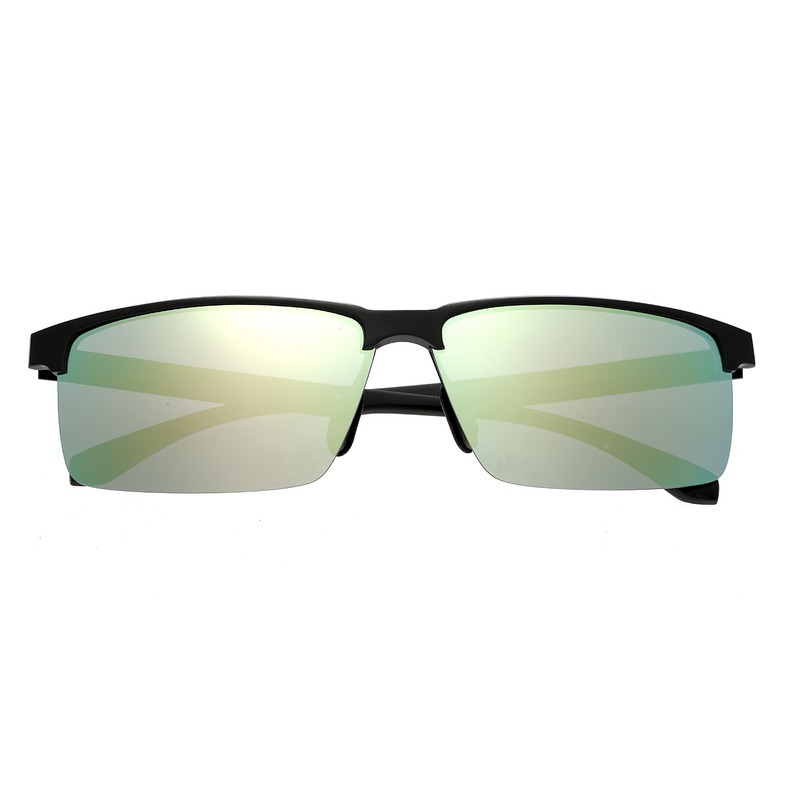 Breed Xenon Titanium Polarized Sunglasses - Black/Celeste-Yellow BSG040BK