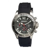 Breed Genaro Chronograph Men's Watch w/ Date-Grey BRD2401